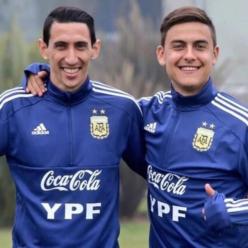 Sin Messi, Argentina se entrena de cara a la Copa América