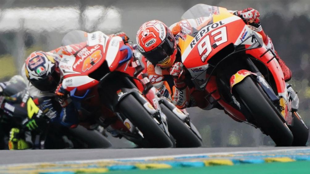El campeón Márquez se impuso en el Moto GP de Le Mans