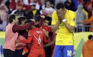 Siamo fuori della copa: Perú eliminó a Brasil