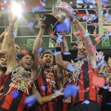 San Lorenzo campeón de la Liga Nacional de Básquet