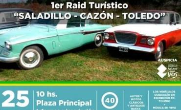 Se realiza este domingo el Primer Raid Turístico para Autos Clásicos y Antiguos