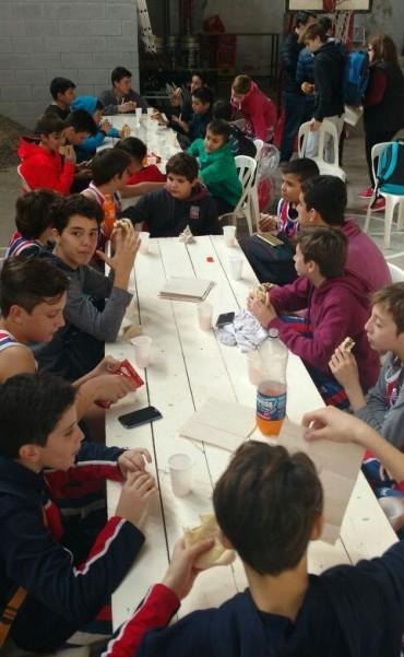 Se jugó la eliminatoria zonal sub13 de clubes de básquet en Chivilcoy