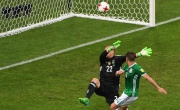 Alemania ganó 4-1 a México por Copa Confederaciones