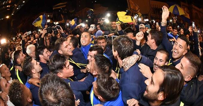 Boca salió campeón sin jugar