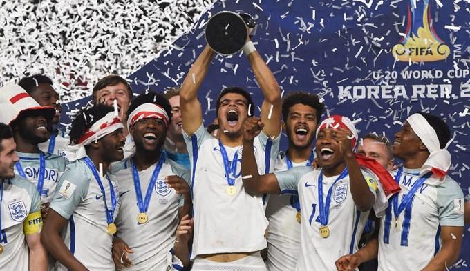 Inglaterra ganó el Mundial Sub 20