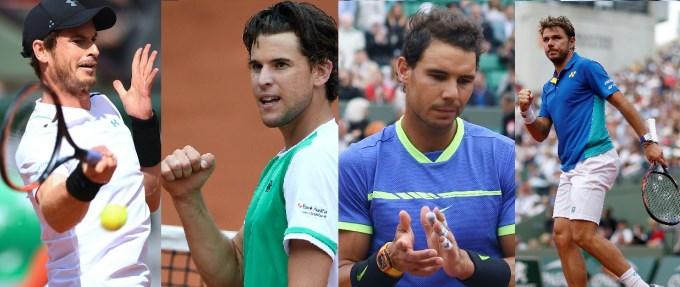 Ya están los 4 semifinalistas de Roland Garros