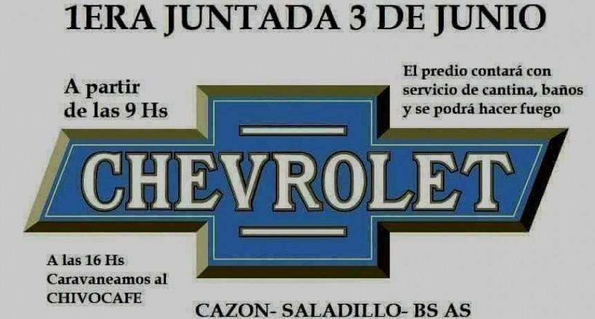 Este domingo Primer Encuentro de Chevrolet en Cazón
