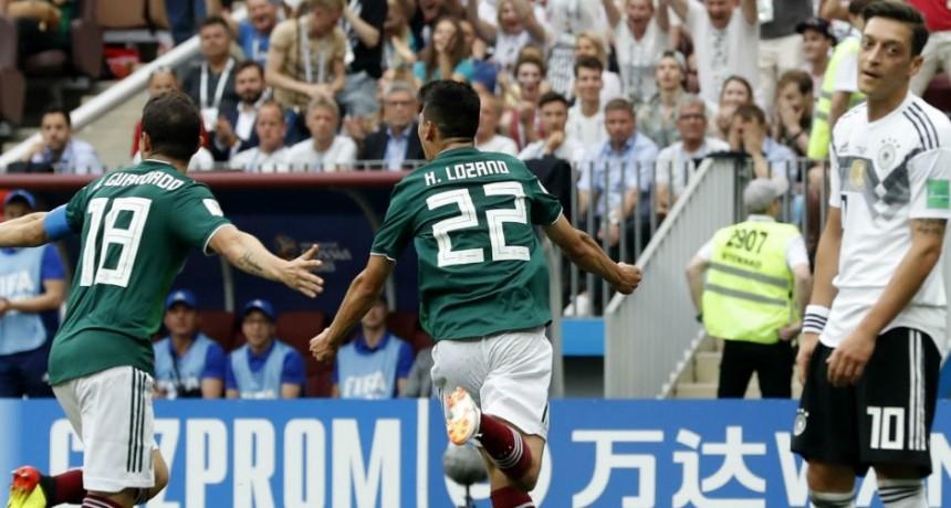 México madrugó al campeón del mundo