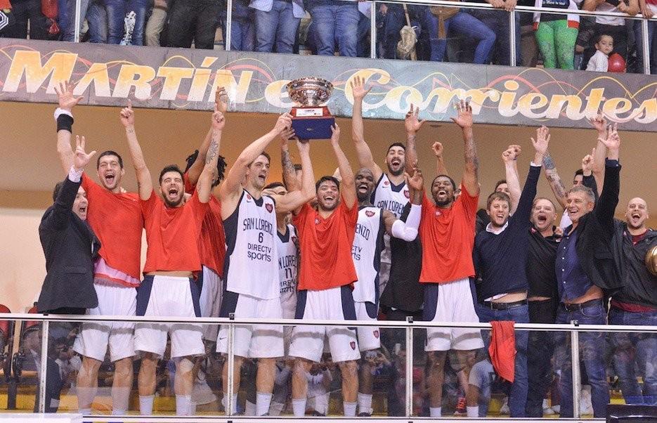 San Lorenzo se consagro campeon de la LNB