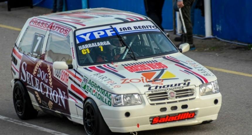 Lucas Barbalarga se impuso hoy en la serie del Turismo Pista