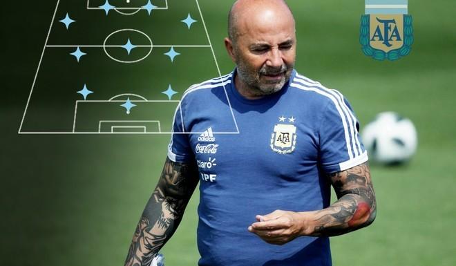 La formación de Argentina para este sábado