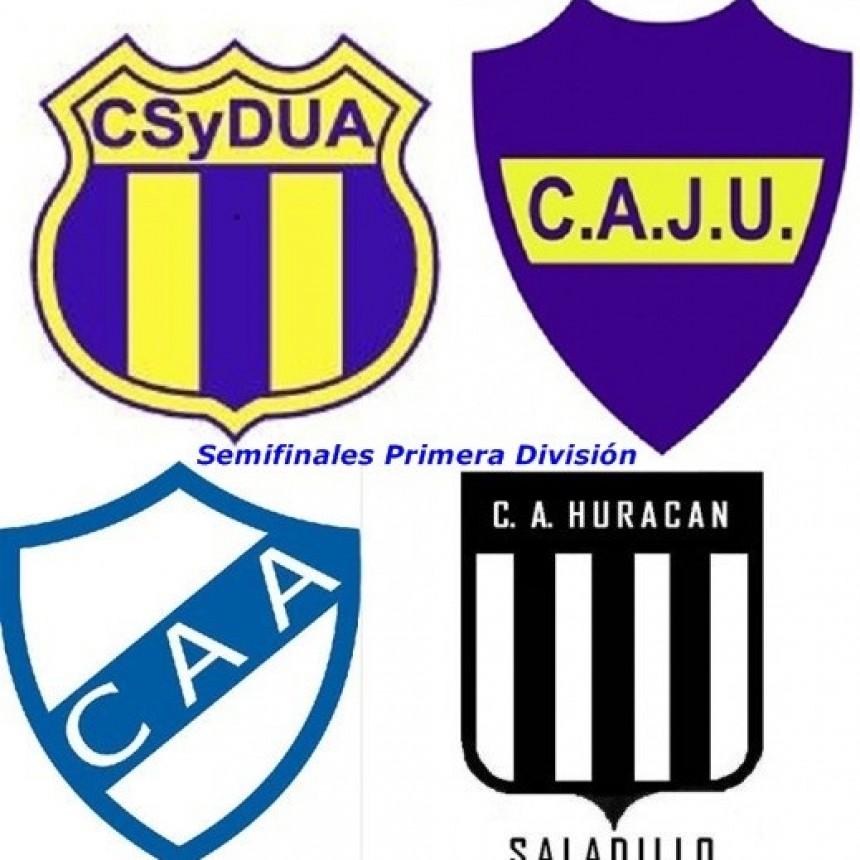 Apeadero-Urso y Argentino-Huracán por las semis de Primera División