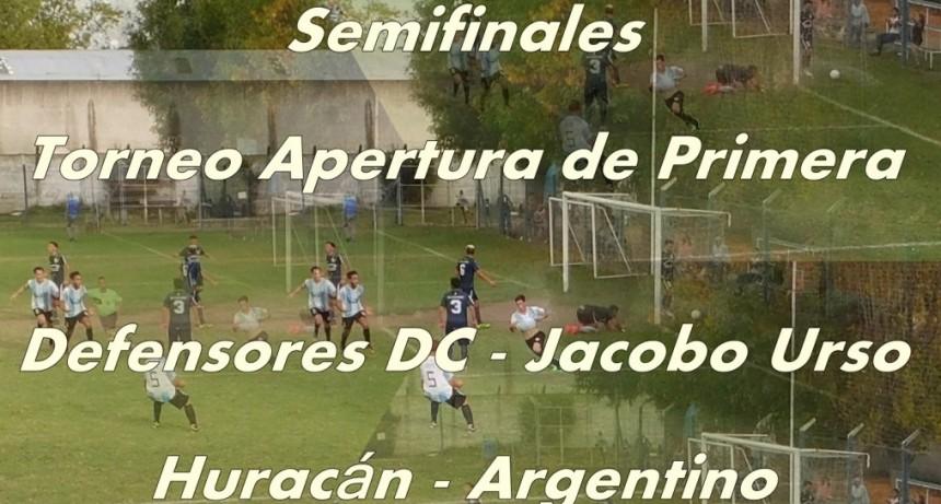 Se conocerán hoy los finalistas del Torneo de Primera División
