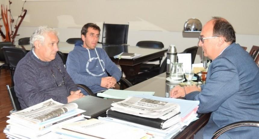 Autoridades del Club Argentino se reunieron con el Intendente