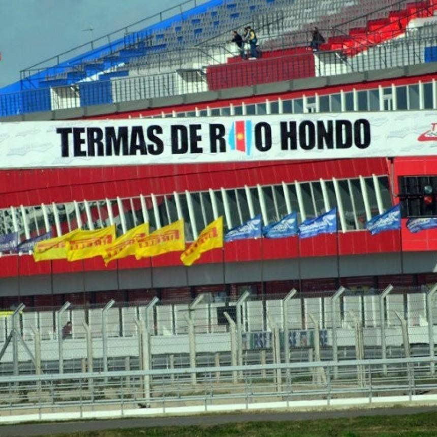 Juan M. Bruno corre en Termas de Río Hondo