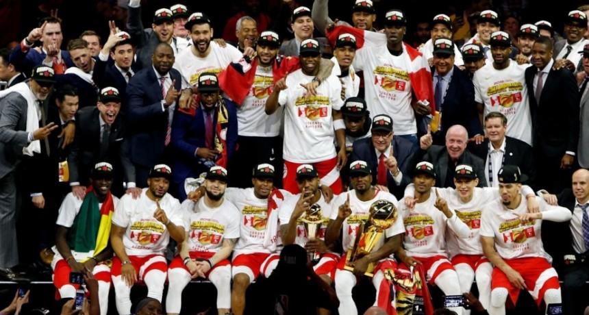 Primer anillo para Los Raptors que hacen historia ganando la NBA