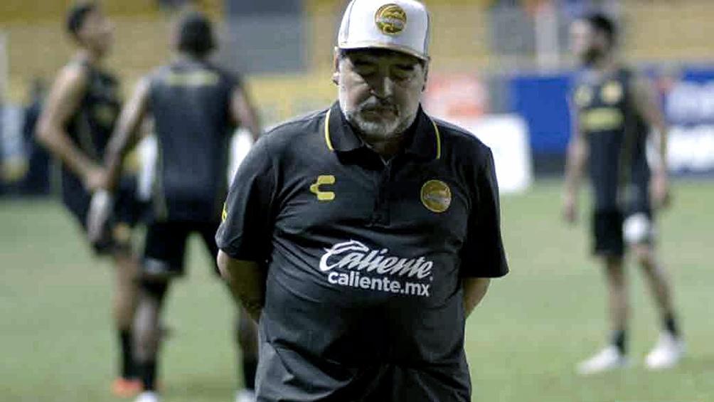 Maradona deja a los Dorados de Sinaloa