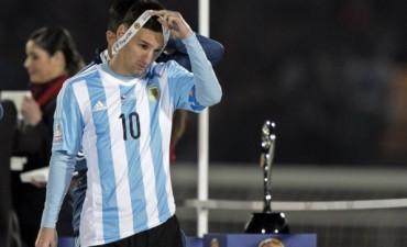 Messi rechazó recoger el premio a MVP de la Copa América