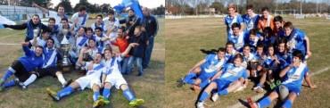 Argentino se quedó con todo: campeón en primera y segunda division