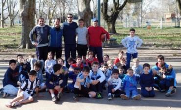 Escuelita de básquet realizo jornada recreativa en el Parque de la Aguas Corrientes