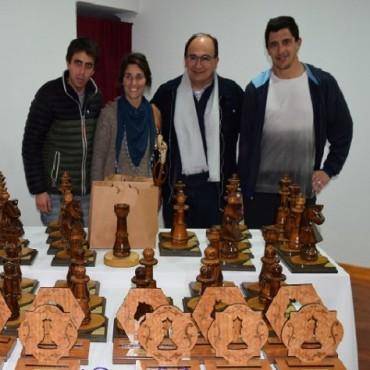 Salomón participó de la entrega de premios del Grand Prix de Ajedrez