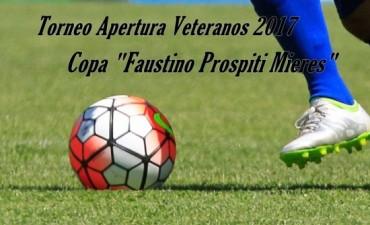 La fecha del Torneo de Veteranos se juega este domingo en Saladillo Norte