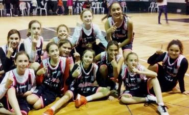 Belu Rojas campeona con las mini del club Comercio de Alvear