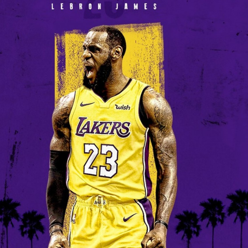 Lebron James acordó contrato con los Lakers por cuatro temporadas