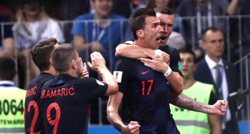 Croacia derrotó a Inglaterra y jugará ante Francia su primera final mundialista