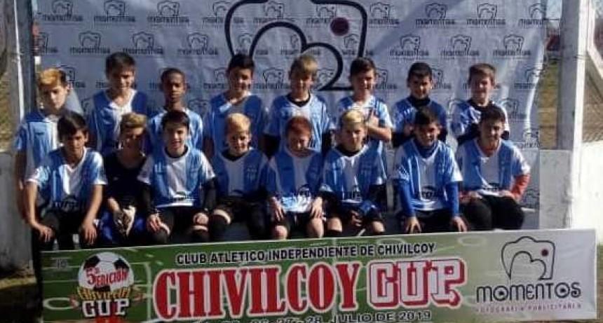 Del Carril finalizó invicto en su grupo en la Copa Ciudad de Chivilcoy