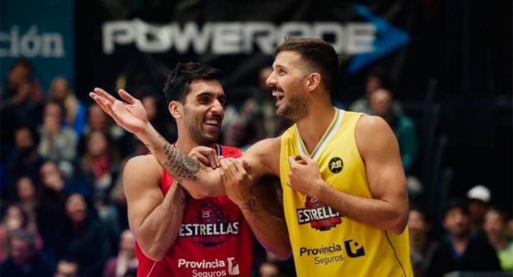 Laprovíttola y Campazzo estarán en la fiesta del básquet