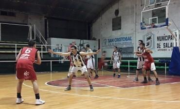 Ciudad de Saladillo le ganó a Sportivo de 25 de Mayo 81 a 62