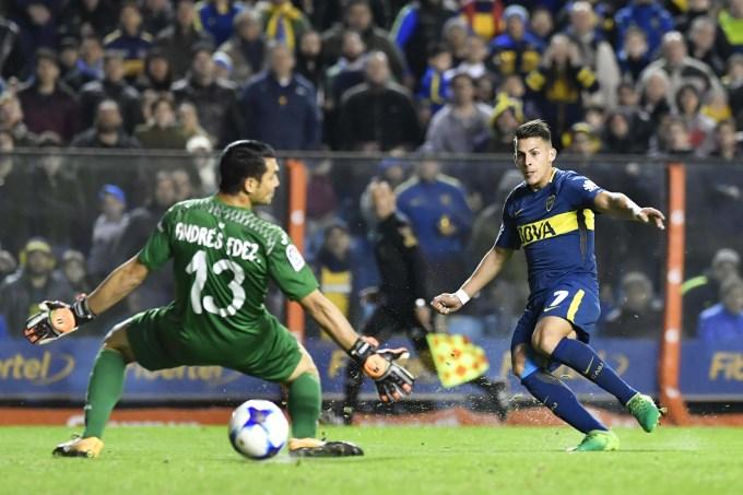 Boca fue amistoso con Villarreal y le ganó por la mínima