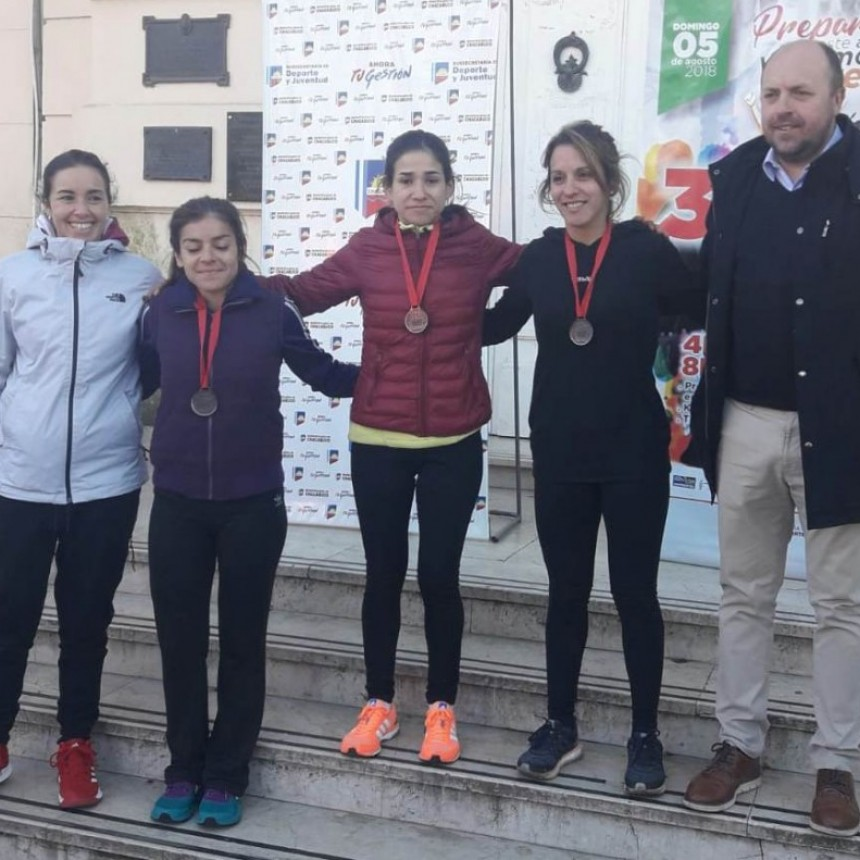 Francisca Almirón fue segunda en