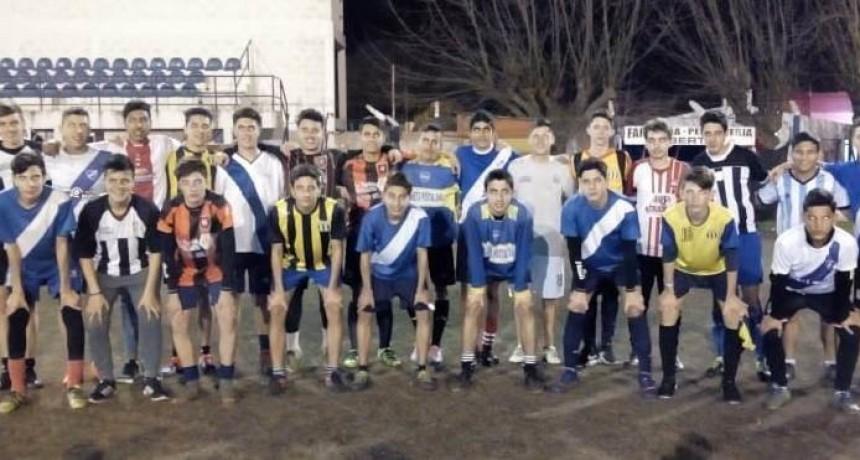 Este miercoles debuta la selección de fútbol sub15 de Saladillo