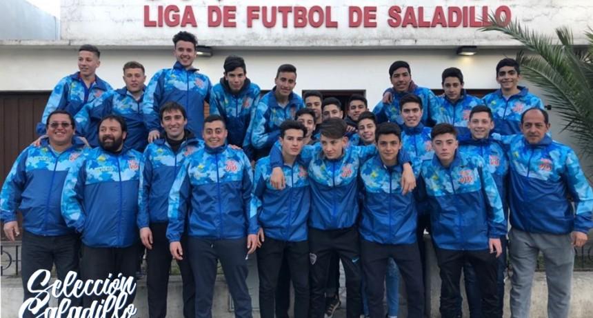 La Selección Sub 15 de Saladillo igualó 1 a 1 frente a 25 de Mayo