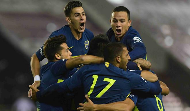 El nuevo Boca goleo en la Copa