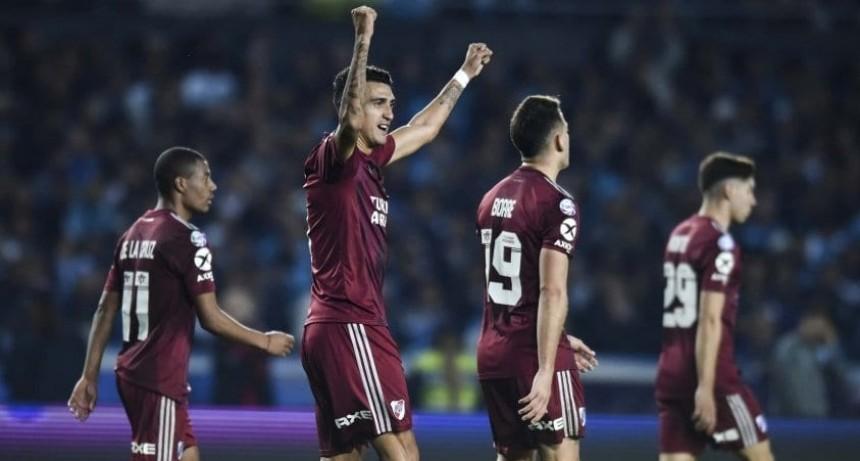 River obtuvo la máxima goleada en el historial ante Racing en Avellaneda