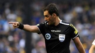 Rapallini será el árbitro del superclásico en el Monumental