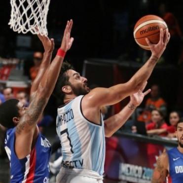 Séptimo triunfo al hilo de la selección de Argentina de básquet