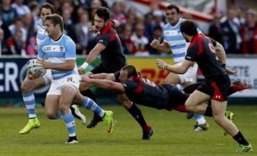 Los Pumas aplastaron a Georgia en el segundo duelo del Mundial de Rugby