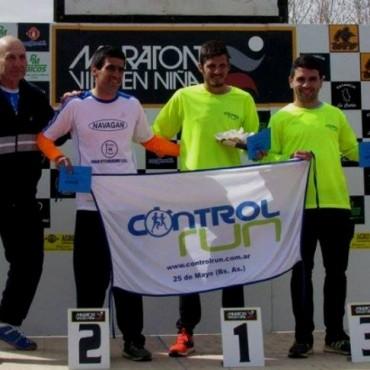 """Ezequiel Aguilera fue tercero en la """"Maratón de la Virgen Niña"""""""