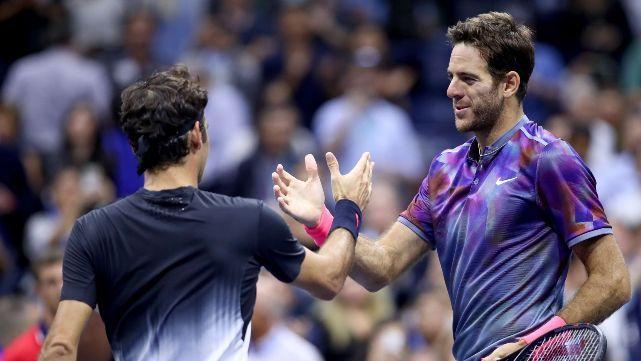 Delpo despachó a Federer y está en semis