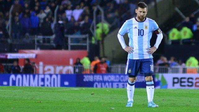 La Selección no pudo ni con Venezuela y sigue en repechaje