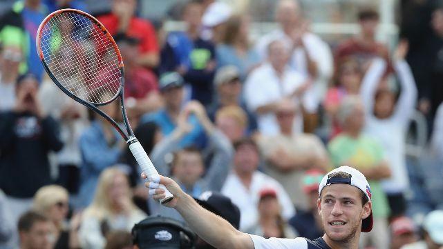 Peque Schwartzman, a lo grande: se metió en cuartos del US Open