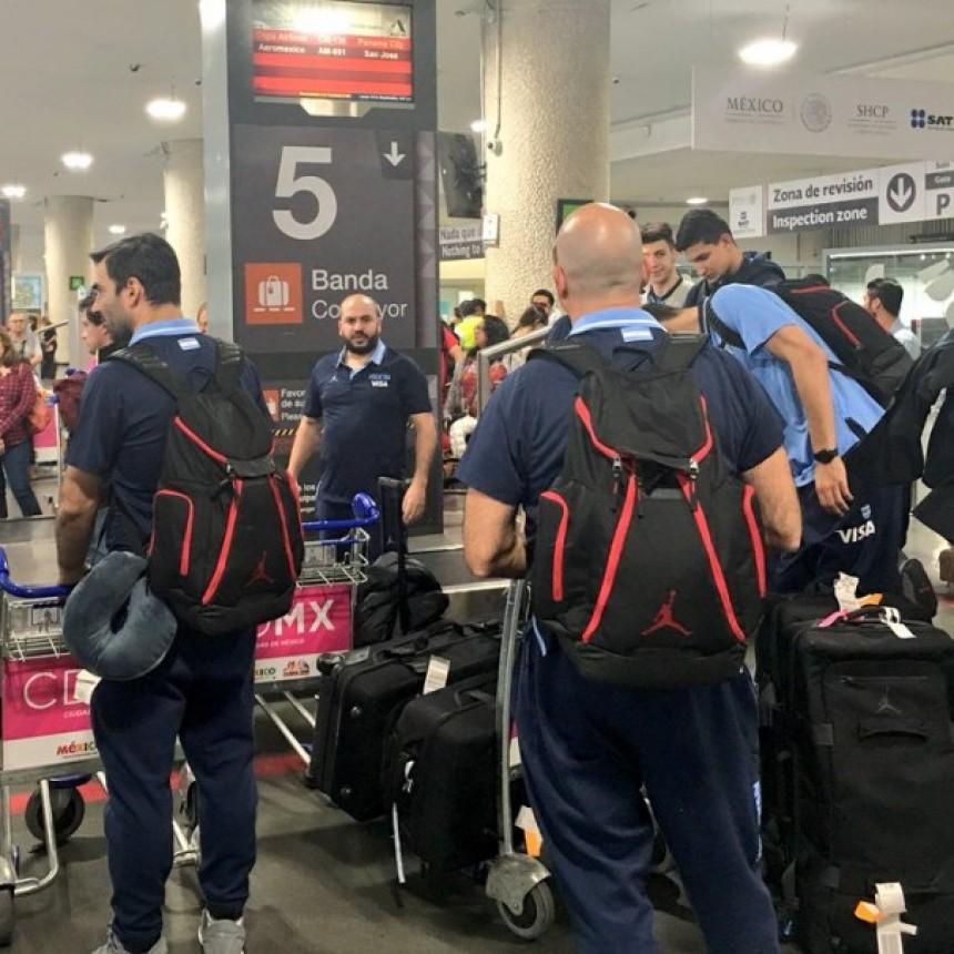 La selección Argentina de Básquet ya está México