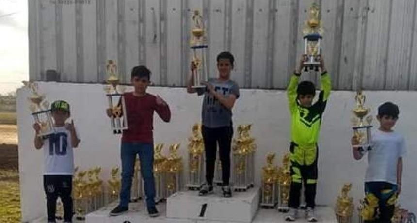 Nueva victoria del joven piloto saladillense Lucio Branca