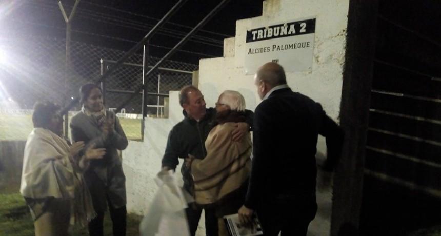 Huracán realizó la Caravana por el Centenario e inauguró obras