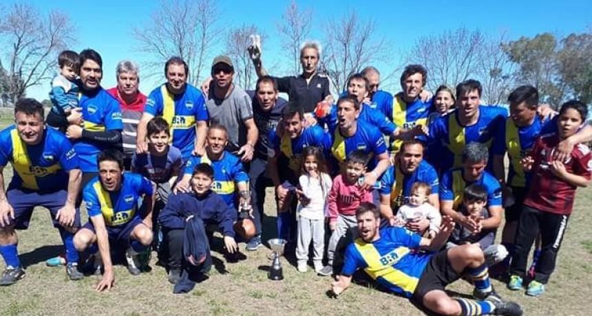 Jacobo Urso campeón del Torneo de Veteranos de fútbol