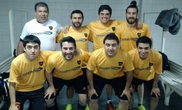 Integrantes de la Peña Boquense de Saladillo jugaron en la Bombonera